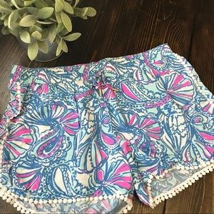 Lilly Pulitzer For Target Girls Shorts Size XL